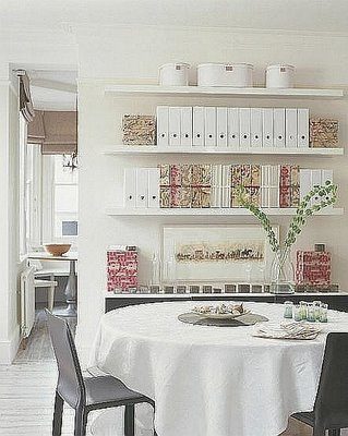 5 ways to increase storage in your home tip junkie for Dining room vs office