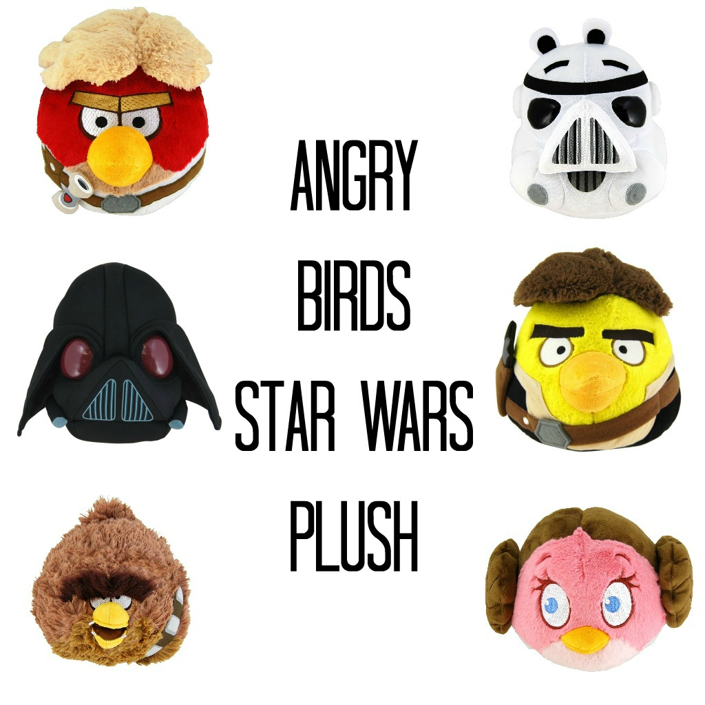 Fun angry birds star wars plush only each jinxy kids - Angry birds star wars 7 ...