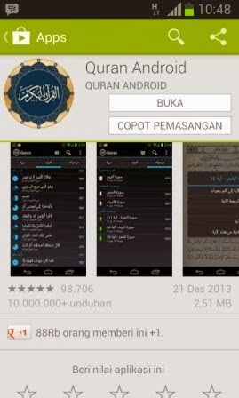 Download Aplikasi Al Quran Android Digital Terbaik