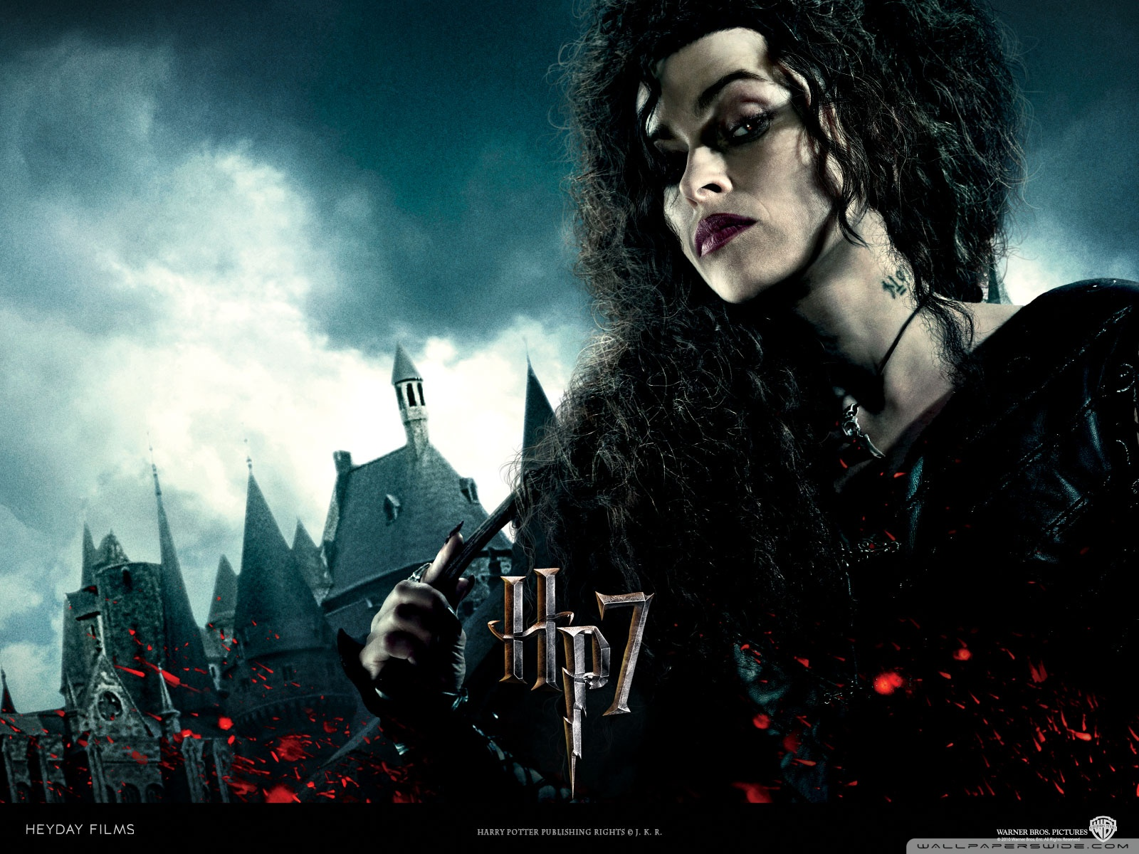 Harry Potter and the Deathly Hallows Bellatrix Wallpaper