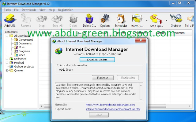 Internet Download Manager (IDM) 6.12 Final Build 21 + Keygen Full Version