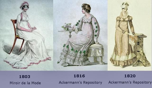 Regency Half Dress