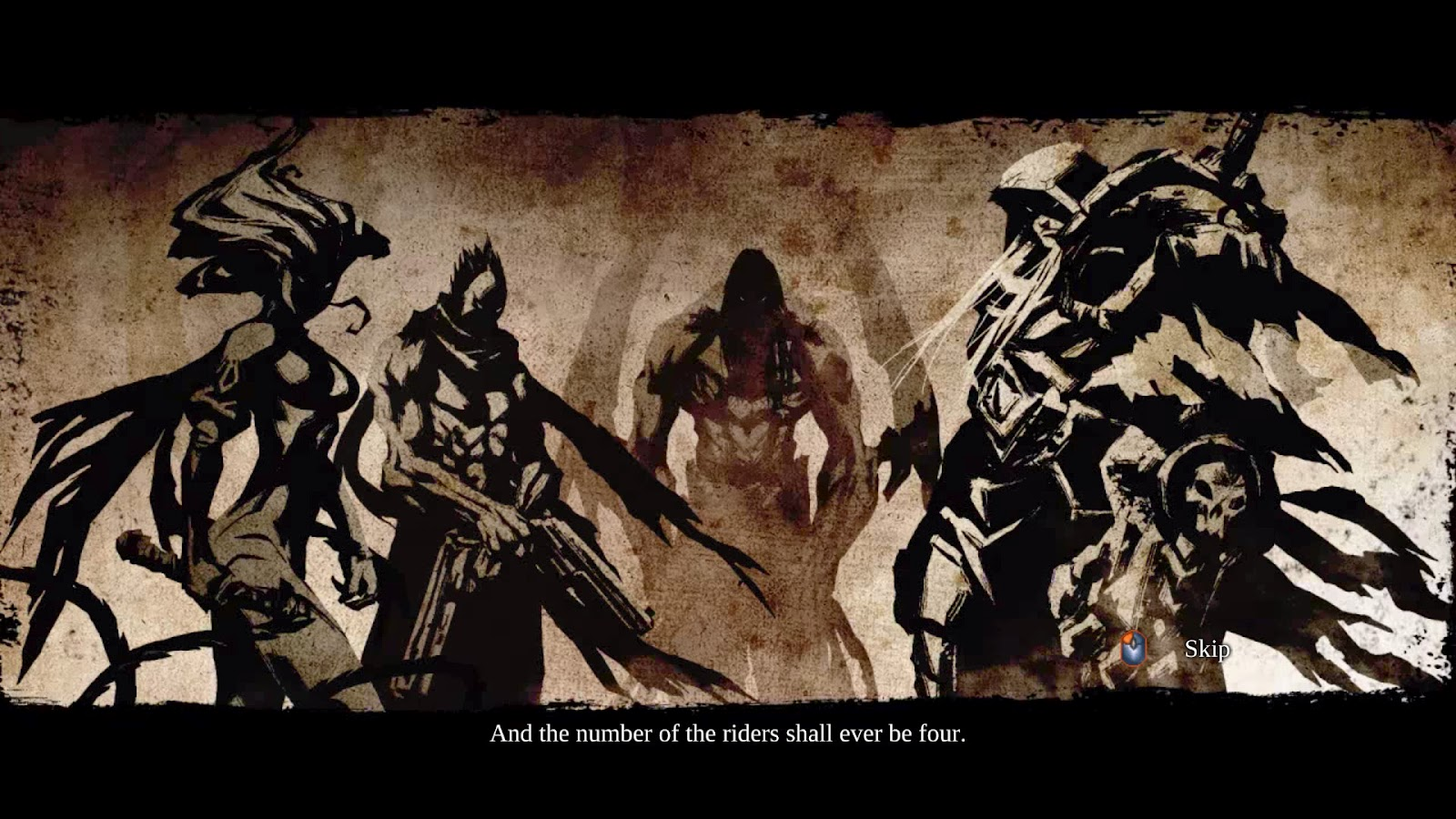 Four Horsemen Darksiders Names The four horsemen in the world