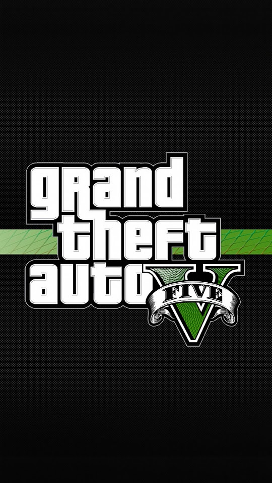 Grand Theft Auto 5 Logo  Galaxy Note HD Wallpaper