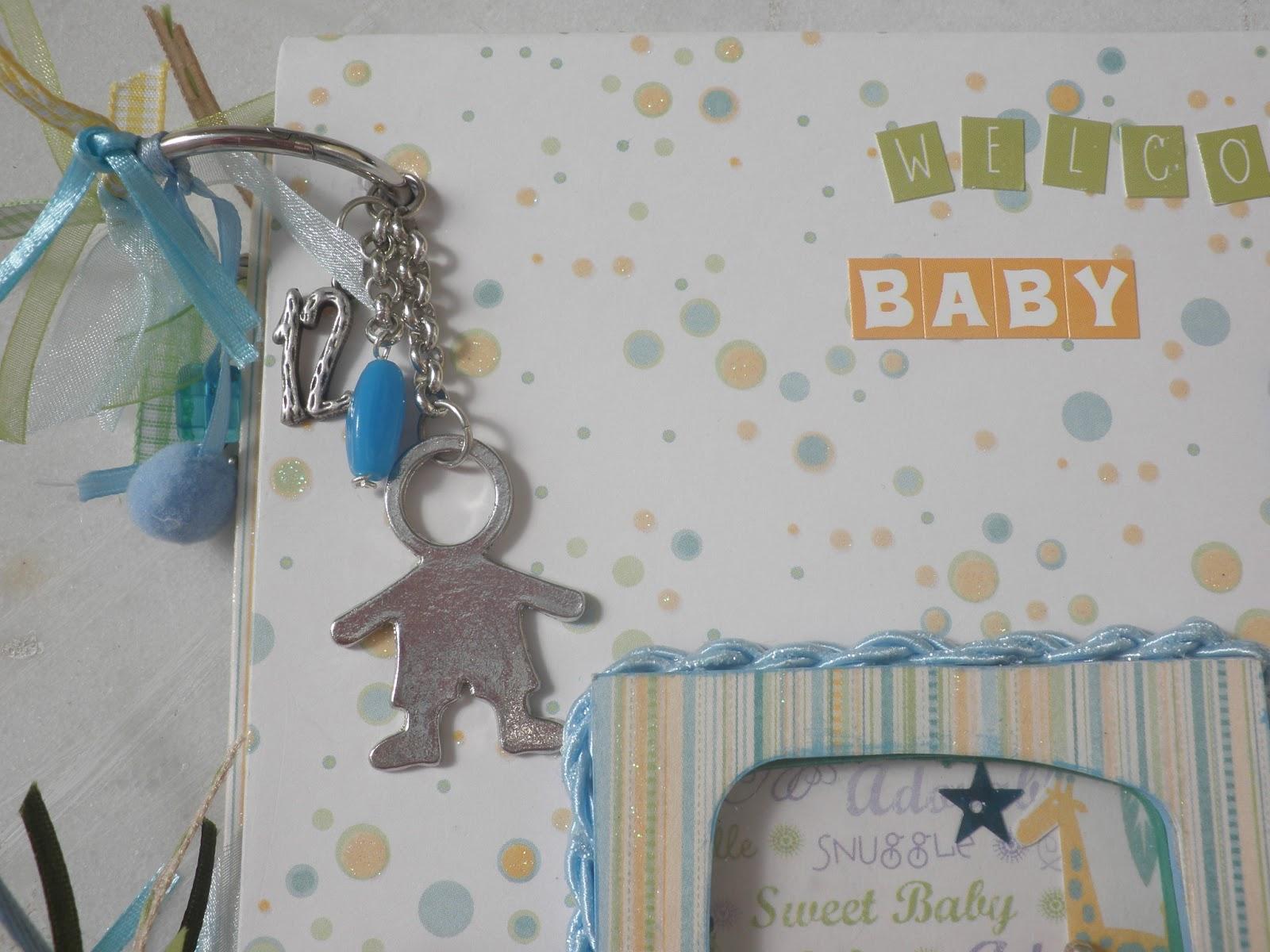 Dada Creations  ημερολόγιο album για νεογέννητο αγόρι 0f78a916a00