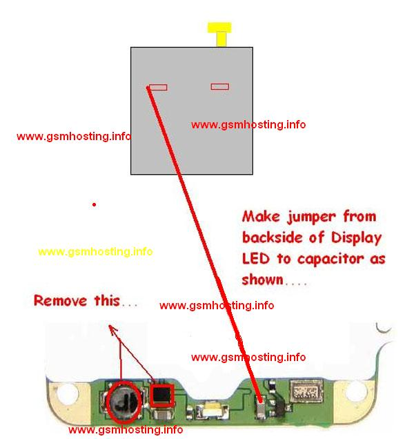 make jumpers as shown in the diagram