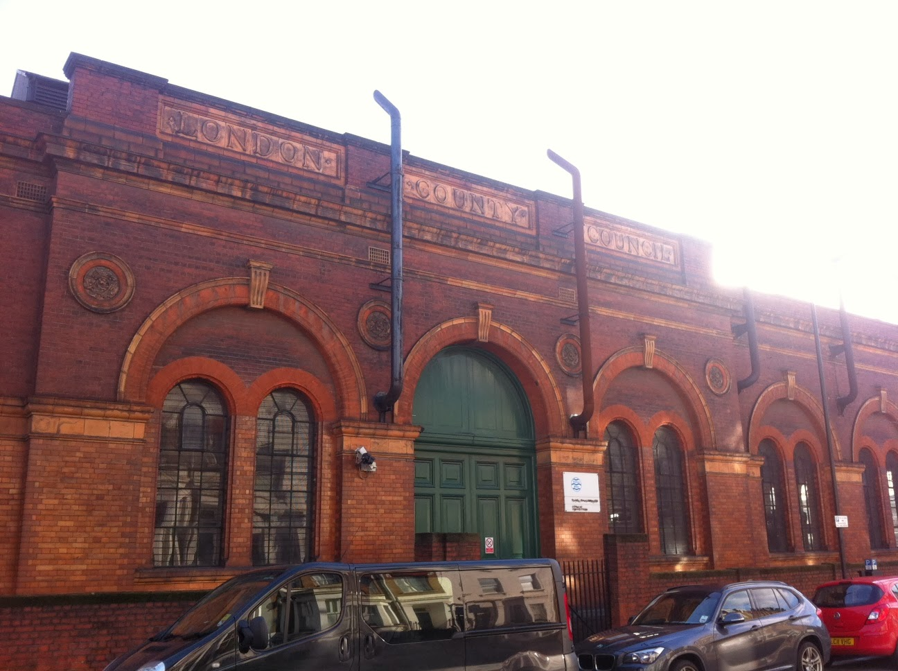 Thames Water Pumping Station, Lots Road, London