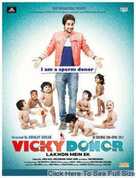 Vicky Donor 2012 Hindi Movie Watch Online