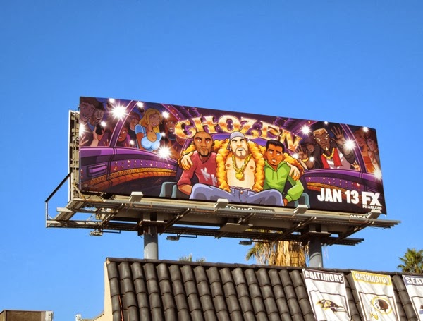 Chozen series premiere billboard
