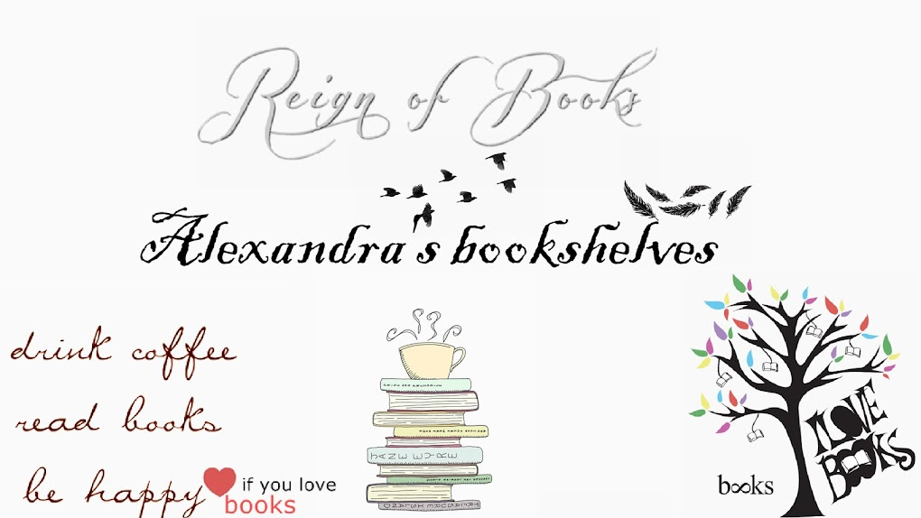 Alexandra's bookshelves