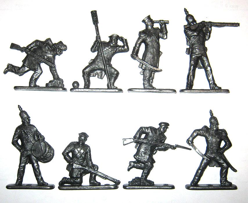 Оловянные солдатики своими руками классический размер 18
