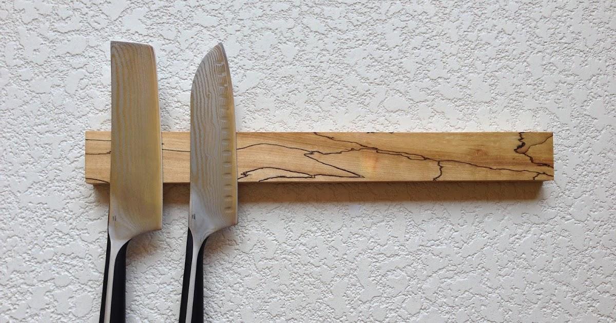 Warrior woodwork magnetic knife strips