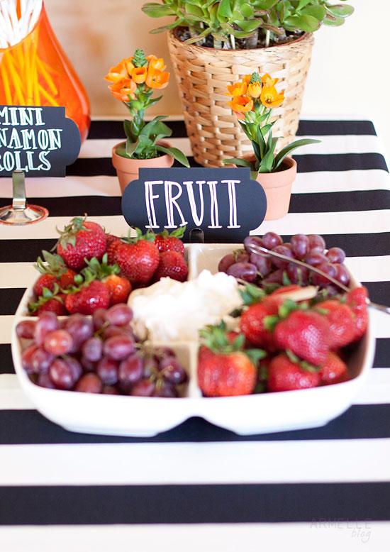yogurt fruit dip paw paw fruit