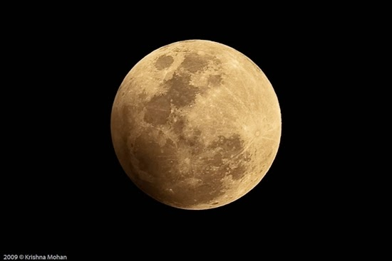 Bulan Purnama yang Digerhanai Bumi Muncul Malam Ini
