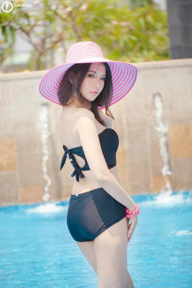 Ảnh gái đẹp HD Mitu Kat mùa hè năng động 4