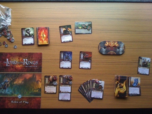 Lord of the Rings Living card game solo play