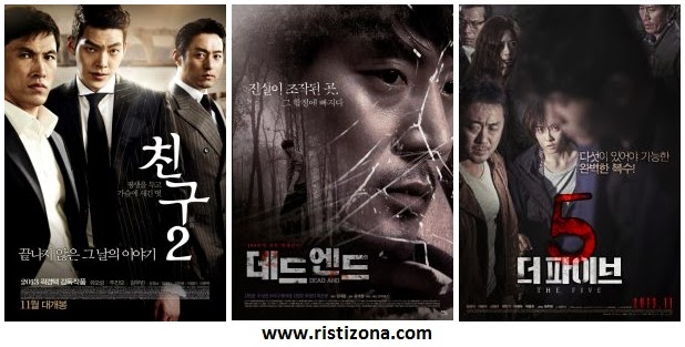 Film Korea Terbaru Boxoffice November 2013