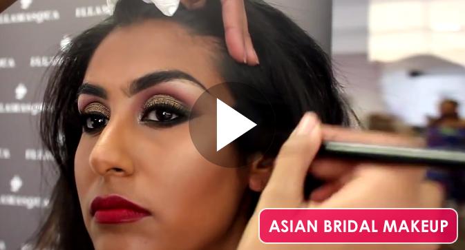 Asian Bridal Makeup Tutorial By Illamasqua Artist Leena