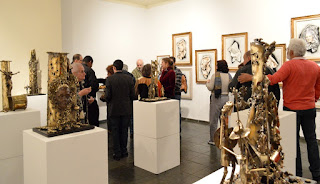 Público confere o talento e a criatividade do escultor Gutierrez