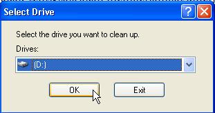 memilih drive