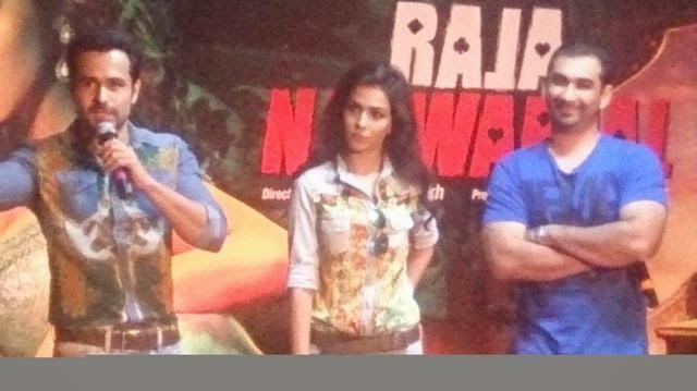 Emran at Launch of 'Flip Your Collar Back' song from 'Raja Natwarlal