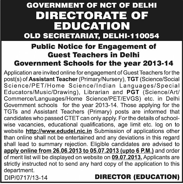 Delhi Teacher 2013-14 at www.freenokrinews.com
