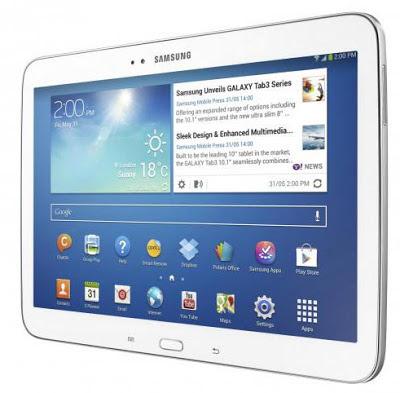 Harga dan Spesifikasi Samsung Galaxy Tab 3 10.1