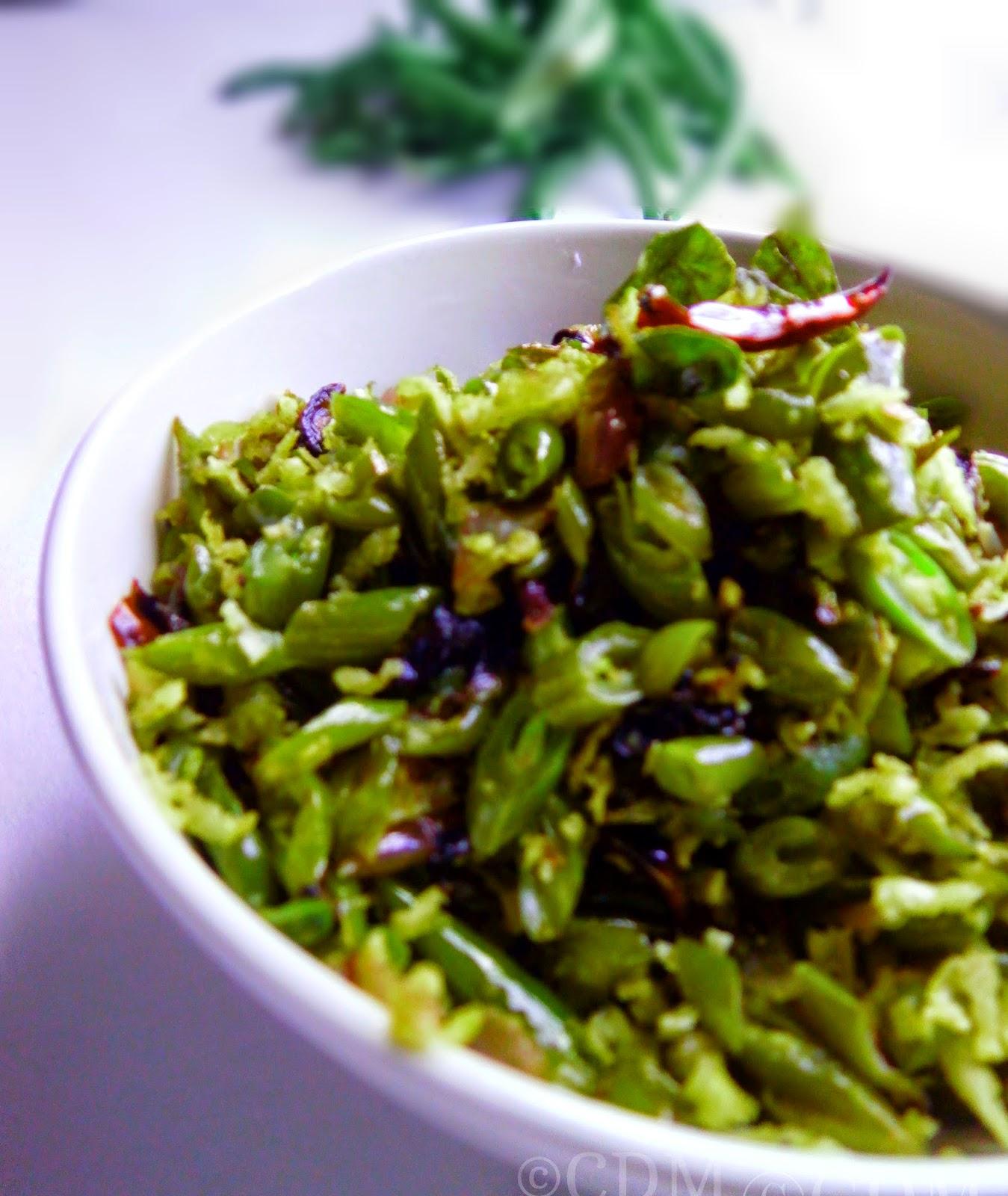 beans_thoran_onam_sadya_recipe