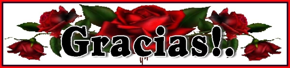 GRACIAS MIS QUERIDOS Y APRECIADOS AMIGOS!!...