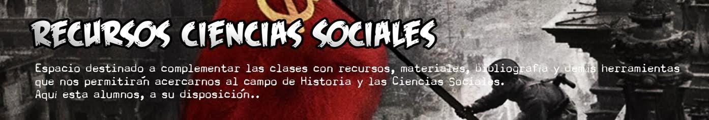 Recursos Ciencias Sociales