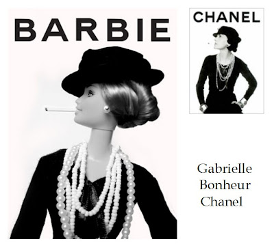 chanel barbie