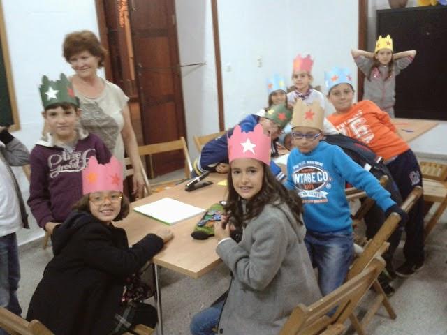 Los niños del Puerto del Rosario preparan pasacalles de Sembradores de Estrellas
