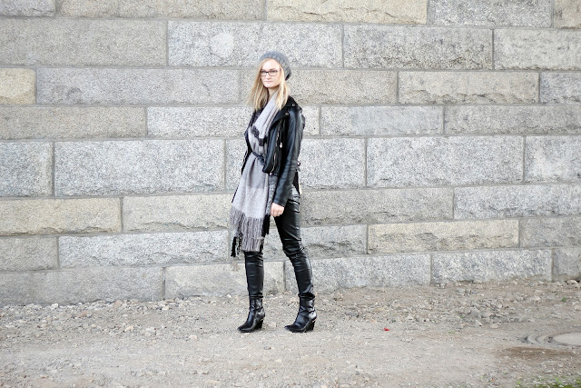 dark neutrals fashion outfit
