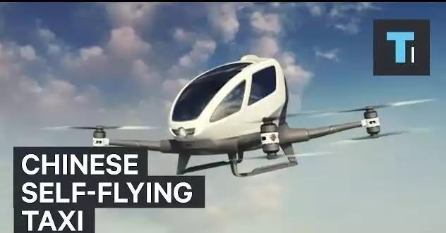 Το πρώτο ιπτάμενο ταξί έκανε βόλτα στο Λας Βέγκας [Βίντεο]