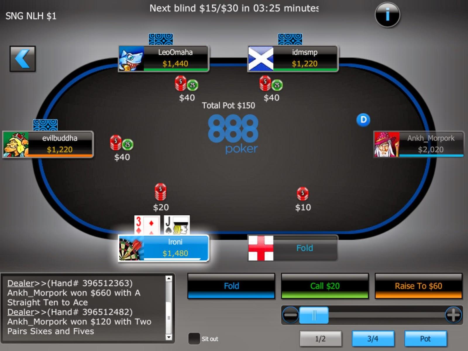 Jugar al poker online