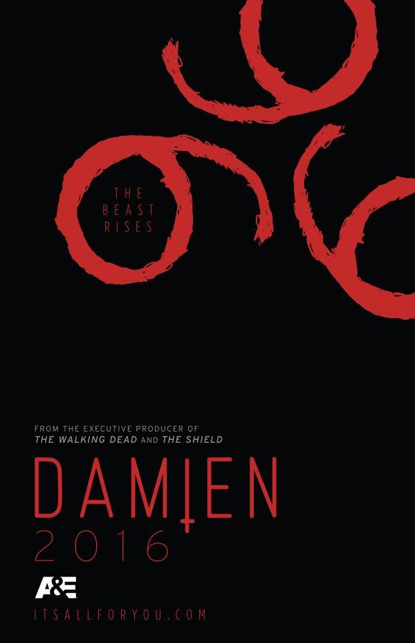 Découvrez la nouvelle série de Glen Mazzara avec Omid Abtahi, Megalyn Echikunwoke, Barbara Hershey, Bradley James, David Meunier et Melanie Scrofano intitulé Damien (TV series) qui sera diffusée sur A&E et qui est basée sur le film The Omen.