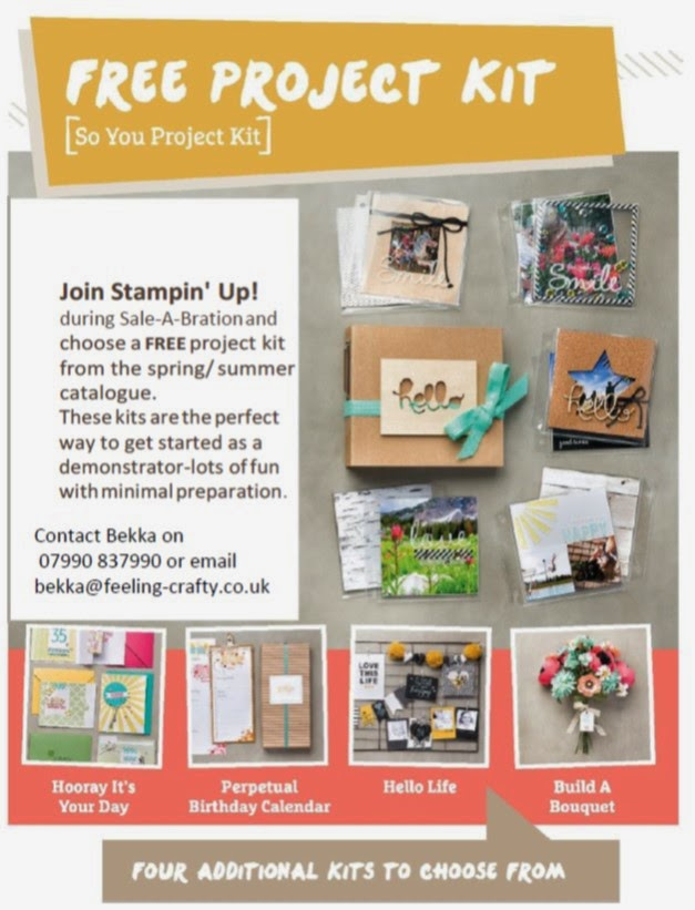 Join Stampin' Up! Now and you can choose this!