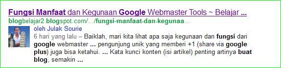 cara memunculkan gambar profil google di hasil pencarian search engine