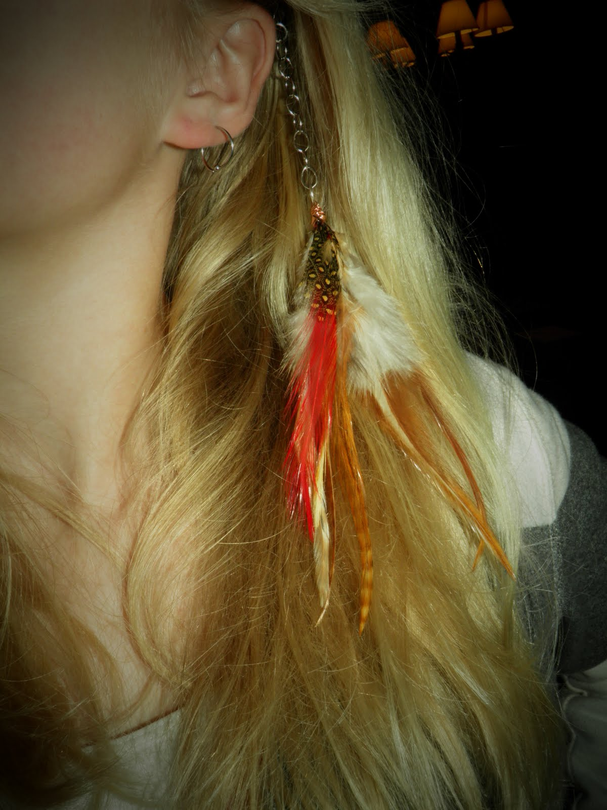 Feather Hair Extension Clips 32