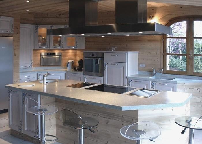 Cocinas de dise o con campanas pando cocinas en navarra - Campanas de cocinas ...