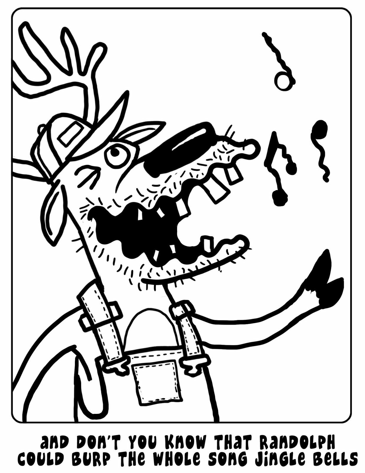 I Drew a Horse Once: Randolph the Redneck Reindeer