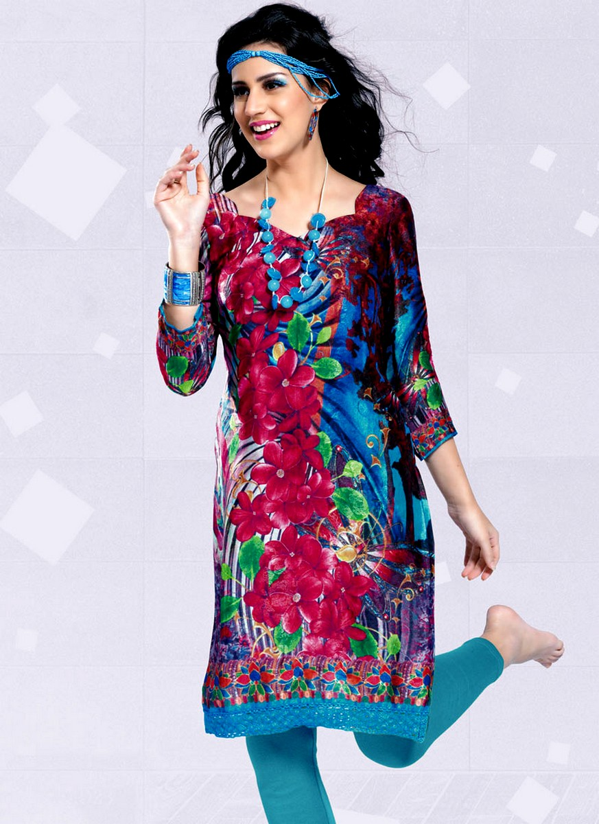latest colorful kurtistunics kurtis designs new kurti