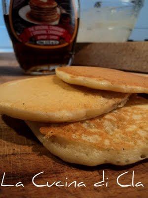 La Cucina di Cla: Good Old Fashioned Pancakes