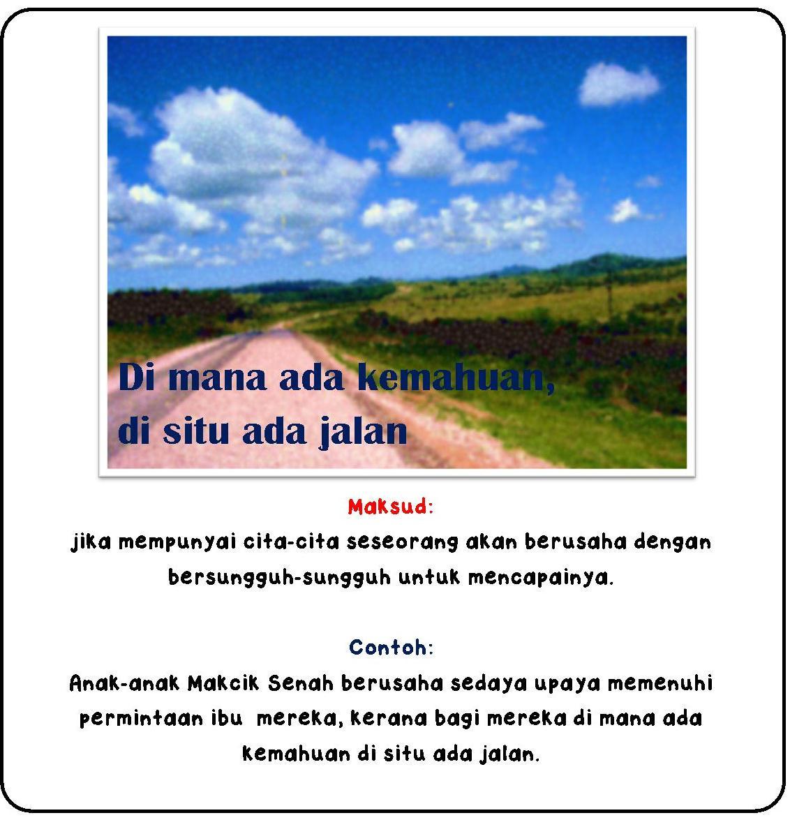Nota Bahasa Malaysia Peribahasa Iii Peribahasa Dan Maksud