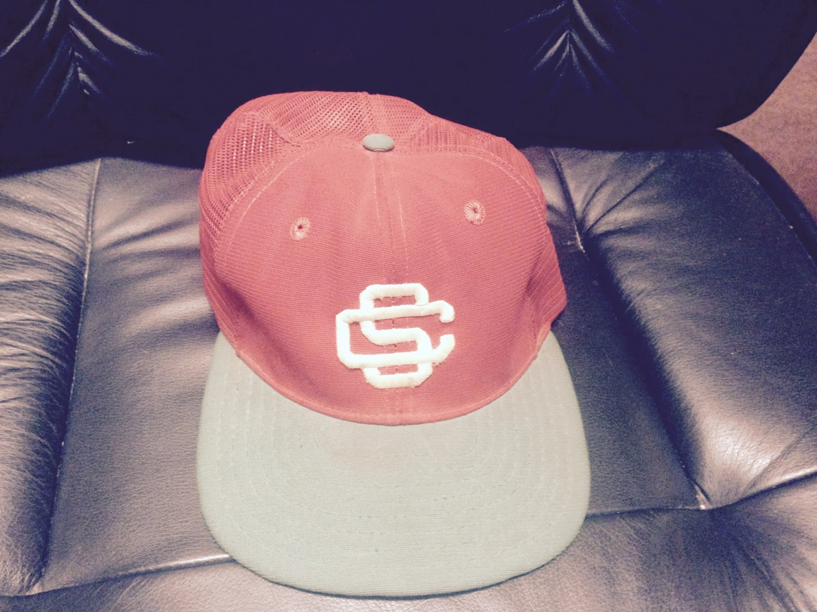 Santa Clara Padres Cap  Gold logo identical to the USC Trojans 542d6878b56