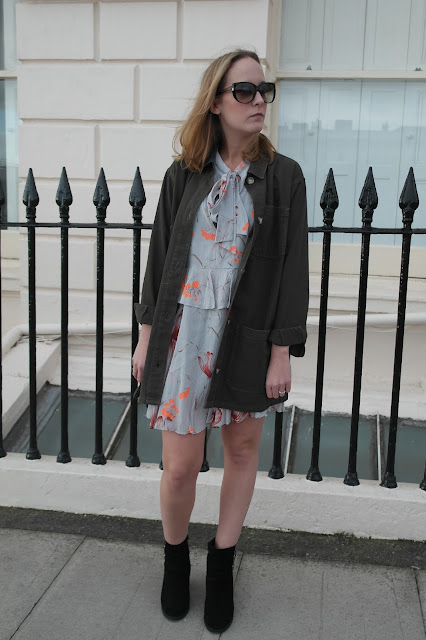 Topshop Floral Dress by What Laura did Next