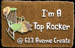 Won Top Rocker at 613 Avenue Create Challenge