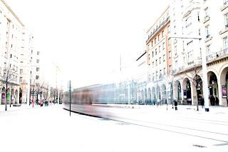 Paseo de la Independencia de Zaragoza.