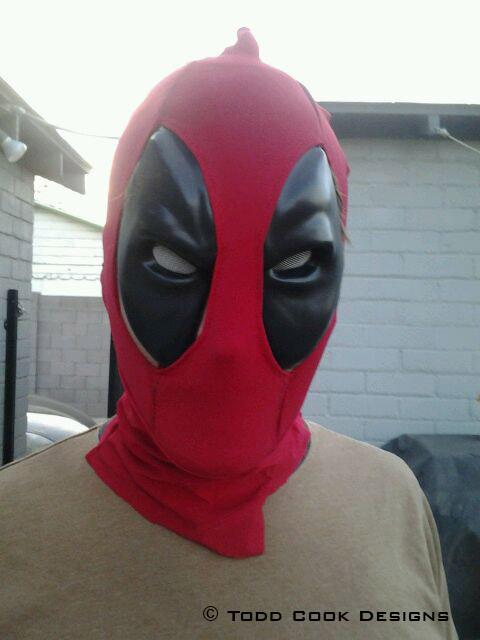 Как сделать дэдпул маска 387