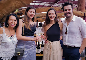 Momento Quinta Vale D. Maria( Francisca Van Zeller)  Importadora Interfood no Figueira Rubaiyat